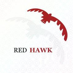 Red Hawk logo by Serdal Sert