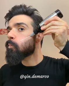 Follow @beardmankit for Daily Dose of beard style and men's grooming tips. Beards Bart Barbe Men Bearded Mustache Moustache Hair Style skæg Barba Sakal لحية Parta skägg