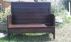 Antique Repurposed Bench. via Etsy.