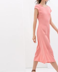Image 1 of DROP SLEEVE DRESS from Zara