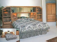 http://waterbedstoday.com/MarathonWallUnit.html ~     The Marathon goes the distance in style, craftsmanship and versatility. Available as a complete wall unit or a freestanding headboard.   1-866-647-2735