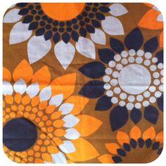 """Design Mona Björk """"små blommor""""  1968"""