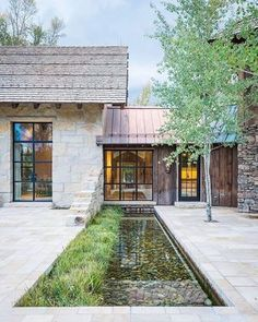 Beautiful Modern Farmhouse Exterior Design Ideas ~ Best Dream Home Style At Home, Modern Rustic, Modern Farmhouse, Rustic Contemporary, Modern Barn, Rustic Style, Rustic Wood, Modern Decor, Haus Am See