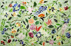 Mosaic Floral Murals with Tom Snyder image