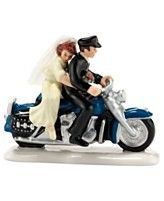 Department 56 Snow Village Harley Ever After Collectible Figurine