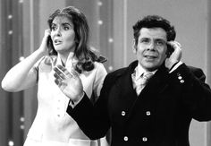 Jerry Stiller and Anne Meara Long before he was Frank Costanza on Seinfeld, Jerry Stiller teamed with wife Anne Meara to form a legendary comedy duo. Married in 1954, they were regulars on the variety and talk show circuit (see them at left on The Ed Sullivan Show). Ben Stiller is their son. They also have a daughter, Amy.