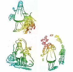 Alice in Wonderland Printables (Set 4) | Alice in Wonderland crafters need these free printables!