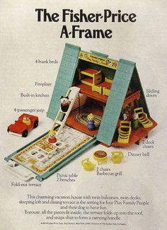 Fischer-Price A frame
