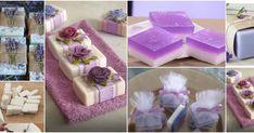 Aprende cómo hacer jabón aromático de lavanda relajante