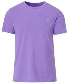 Polo Ralph Lauren Men's Custom Fit Jersey Crewneck - Purple XXL
