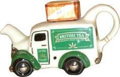 British Tea Van One Cup | Catalog Products | Teapot Shop | Teapots by Tony Carter – Carters Teapots – Collectables Teapots – Collectible Teapots – Novelty Teapots