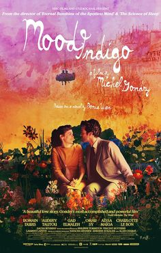 Mood Indigo (2013) - Set in a charmingly surreal Paris, wealthy bachelor Colin spends his time developing his pianocktail (a cocktail-making piano) and devouring otherworldly dishes prepared by his trusty chef Nicolas. All this ends when his girlfriend Chloe is diagnosed with an unusual illness caused by a flower growing in her lungs. He puts his inventiveness to use by finding a cure.