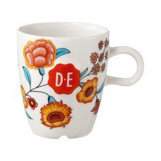 Douwe Egberts Hylper koffiekop multicolor | Blokker