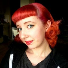 Nothing like a perfect set . Pin curls.