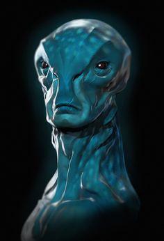 ArtStation - Alien Commander, Jouni Koponen
