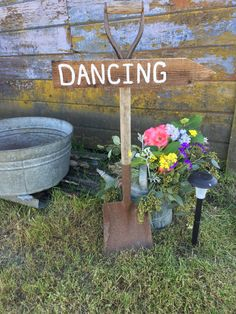 Antique farm tools transformed into charming event signage. Direct your guests in a fun and decorative way. Rent Jeanette's Rustic Signs for your dream outdoor wedding, family reunion, or work party. They add the perfect rustic touch to any event. Event Signage, Wedding Signage, Rustic Wedding, Farm Tools, Work Party, Rustic Signs, Dreaming Of You, Touch, Antiques