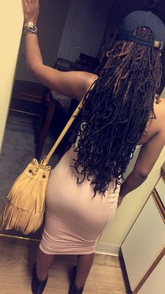 Girls with glasses Long Locs Locs Girls with Locs Girls with dreads Pretty girl IG: Dreadlock Styles, Dreads Styles, Dreadlock Hairstyles, Girl Hairstyles, Curly Hair Styles, Natural Hair Styles, Black Hairstyles, Wedding Hairstyles, Beautiful Dreadlocks