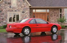 1989 Ford Thunderbird Super Coupe Ford Svt, Car Ford, Ford Thunderbird, Mustang Svo, Energy Crisis, Fuel Efficient Cars, Old Fords, Ford Motor Company, Sport Cars