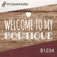 💕Welcome to my Boutique💕 💕Welcome to my Boutique💕  ✨Jewelry  ✨Clothing ✨Accessories  ✨Occasional Reposh Other