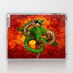 SHEN LONG DRAGON abstract art Laptop & iPad Skin @pointsalestore @society6thresecond #laptop #ipadskin #Painting #Digital #Painting #Oil #Digital #Acrylic #Abstract #Dragonball #Dragonballsuper #Sungoku #Songoku #Vegeta #Shenron #Saiyan #Manga #Cartoons #Kids #Retro #Capsulecorp #Bezita #Dragon #Wyvern #Snake