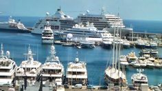 inside luxury mega yachts - Google Search