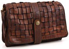 Campomaggi Lavata Clutch Leather cognac 26 cm - C1210VL-1702   Designer Brands :: wardow.com