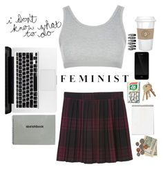 """""""#155"""" by aphaphaph ❤ liked on Polyvore featuring Topshop, Monki and Incase"""
