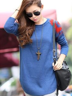 Long Sleeve Knitted Pullover Sweater (Comes in 3 colours)