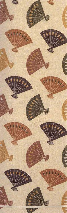 Obi (sash for kimono) by National Living Treasure of Japan, Heiro Kitagawa (1898~1988)