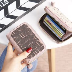 Zoppah.com   Zoppah online Small Wallet, Guangzhou, Print Logo, Card Holder, Unisex, Bag, Cards, Leather, Gifts