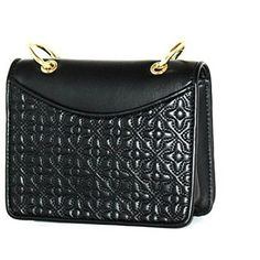 97a8f0c03dff Tory Burch Bryant Quilted Mini Shoulder Black Leather Cross Body Bag -  Tradesy Black Leather Crossbody