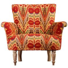 nuLOOM Ethnic Chic Ikat Multi Arm Chair