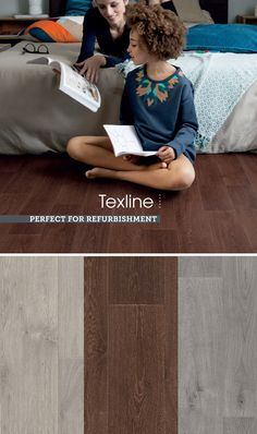 Ideal for anywhere in the home, by Gerflor is a tough with a unique patented textile backing system that gives higher warmth and comfort underfoot, perfect for the Wall Finishes, Vinyl Flooring, Modern Design, Branding, Textiles, Unique, Collection, Brand Management, Vinyl Floor Covering