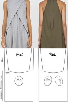 I love these women's tunic sewing patterns. Great to wear when it's too cold to . - - I love these women's tunic sewing patterns. Great to wear when it's too cold to wear a dress but I still want to something pretty and feminine. Easy Sewing Projects, Sewing Tutorials, Sewing Hacks, Fashion Sewing, Diy Fashion, Ideias Fashion, Tunic Sewing Patterns, Clothing Patterns, Linen Dress Pattern