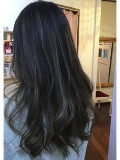 フェリス(feliz) ハイライトカラー&ダークカラー☆ Hair Inspo, Hair Inspiration, Ash Balayage, Brunette Hair, Dark Hair, Hair Looks, New Hair, Hair And Nails, Short Hair Styles
