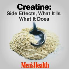 There's been a lot of talk in the news about side effects of #creatine. What you need to know: http://www.menshealth.com/nutrition/creatine-side-effects-what-it-what-it-does