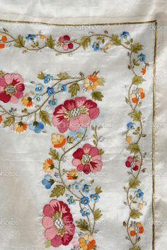 Turkish embroidery pattern — Стоковое изображение #23560431