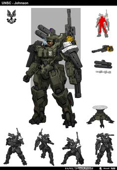 Halo - Sgt Johnson by StTheo