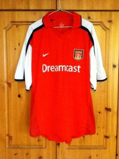 Arsenal Football Club Home Jersey 2000 - 2002 Extra Large Adult XL Nike