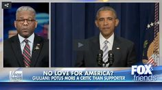 "West began by backing up Giuliani's claim that ""President Obama doesn't love America.""  'If you love something, you don't...' Read more at http://www.westernjournalism.com/allen-west-explains-obama-doesnt-love-america/#CWmLmruKRKZg2doF.99"
