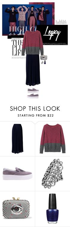 """""""The High Legacy"""" by kokafor934 ❤ liked on Polyvore featuring Chicwish, Toast, Kenzo, Dyrberg/Kern, KOTUR, OPI, stylemission and SM7"""