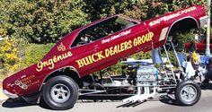67 buickSkylark funny car