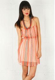Cami Mini Dress....Twelfth St.....Coral!