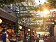 As part of their $800 million West Village precinct, Japanese-developer Sekisui House has set out to satiate Brisbane's growing affection for Melbourne-like city laneways by creating four new public laneways. Sekisui