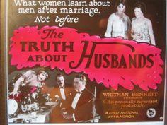 Antique Silent Movie Bad Husband 1920 Flapper Era NYC 6th AV Magic Lantern Slide   eBay