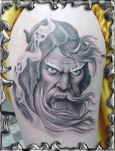 Resultado de imagem para tatuagem mago