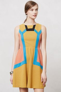 Chromatography Dress by Champagne & Strawberry #anthropologie