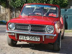 Mini Clubman 1098cc Leyland Cars Convertible Minilite Wheels - http://classiccarsunder1000.com/archives/45453