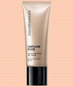 The Highest Ranked Tinted Moisturizer Right Now #refinery29  http://www.refinery29.com/bareminerals-complexion-rescue-tinted-hydrating-gel-cream-review