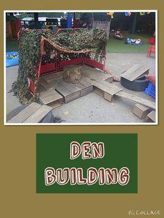 Children's den building by @shawbo